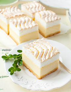 Easy Lemon Curd Recipe (Fool-proof method, less than 10 minutes) Polish Cheesecake Recipe, Polish Cake Recipe, Easy No Bake Cheesecake, Polish Recipes, Cheesecake Recipes, Dessert Recipes, Polish Food, Cheesecakes, Easy Lemon Curd