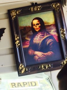 Cool! Mona Lisa, Cool Stuff, Frame, Artwork, Painting, Home Decor, Cool Things, Art Work, Homemade Home Decor