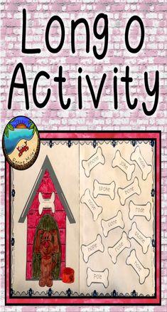Long o vowel practiceGreat first grade craftprint and go! Classroom Fun, Classroom Activities, Fun Activities, Easter Activities, First Day Of School Activities, September Activities, First Grade Projects, Kindergarten Blogs, School Reviews