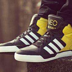 Tênis Adidas Neo Rugged Verde e Branco