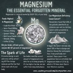 Magnesium Deficient People 76% More Likely to Get Pancreatic Cancer - 80% of Us Are Magnesium Deficient - Allergies & Your Gut