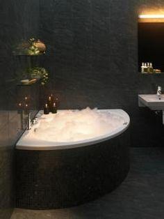 Corner Laundry Tub : Corner tub, Tubs and Window on Pinterest