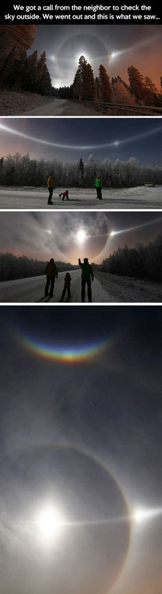Very unusual sky... - One Stop Humor: Funny Pictures and Videos!