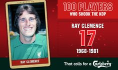 100PWSTK: 17. Ray Clemence - Liverpool FC