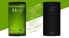 Google X Phone aka Nexus 5 z Android 5.0 Key Lime Pie