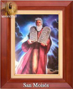 Leamos la BIBLIA: San Moisés