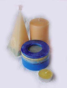 #Jabón #aromático #artesanal #PortaVelas. #Aroma, forma y #color personalizado Precio:8 euros - Para velas pequeñas - Jabones artesanales, Jabones decorativos, Jabones aromáticos