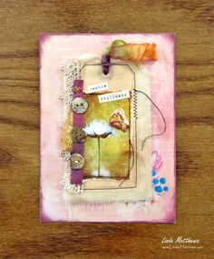 Creative Art'n'Soul Journal Page: Small Interesting Things