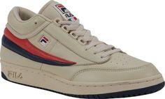 Fila Original T1 Mid Men's Shoes Tennis Court Sneakers, Size: 8 M, Blue