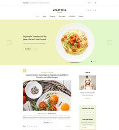Vegetexia is a fully responsive and crossbrowser compatible Vegetarian Meals WordPress Theme licensed under GPL which is ready to go out of the box. Restaurant Blog, Design Presentation, Special Recipes, Blogging For Beginners, Other Recipes, Lunches And Dinners, Website Template, Wordpress Theme, Vegetarian Recipes