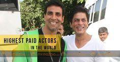 #ShahRukhKhan and AkshayKumar highest paid actors in the world #DeepikaPadukone #DwayneJohnson