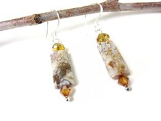 jasper+earrings++swirly+jasper++fancy+jasper++by+RockinLola,+$15.00