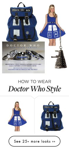 """""""Doctor Who"""" by art-fashion on Polyvore"""