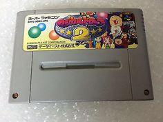 Magcal Drop 2 Super Famicom Japan NTSC-J Nintendo