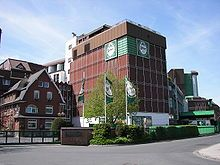 The Licher Beer factory in Lich, Germany