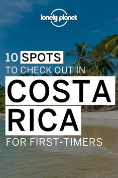Planning your first trip to Costa Rica? Even though it's small, Costa Rica has so many amazing things to do that choosing where to go can be overwhelming! On this post, we share the 10 destinations in Costa Rica you must check out if it's your first time traveling here! Caribbean Culture, Caribbean Sea, Best Honeymoon Destinations, Continental Divide, Natural Park, Beach Town, Dance The Night Away, Central America, Lonely Planet