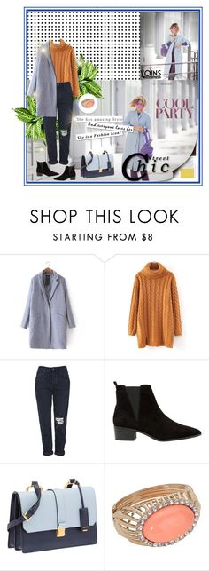 """""""Yoins 8/10"""" by mell-2405 ❤ liked on Polyvore featuring Topshop, MANGO, Miu Miu and yoins"""