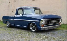 68 Ford F-100 79 Ford Truck, F100 Truck, Old Ford Trucks, Vintage Pickup Trucks, Old Pickup, Hot Rod Pickup, Chevy Luv, Old School Cars, Old Fords