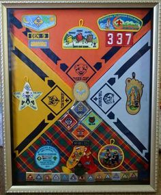 Boy Scout Tribute of Achievements Cub Scouts, Shadow Box, Cubs, Puppies, Bear Cubs, Baby Puppies, Chicken, Baby Animals