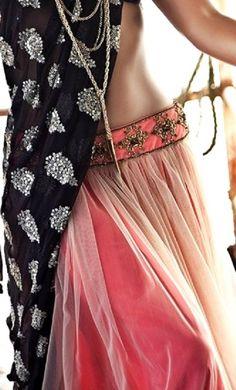Lehenga gold zari zardozi indian weddings bride bridal wear