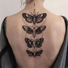 Team Of Tribal Butterflies