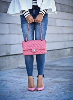 50ec4eafb21b Pink Chanel Classic Flap, Louboutin Pigalle Follies, Pre-owned Designer Bags