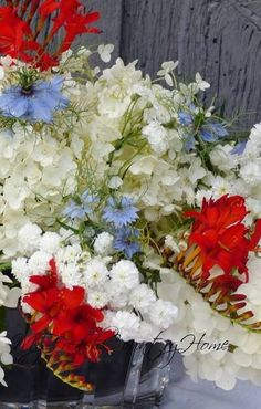 bastille day flowers