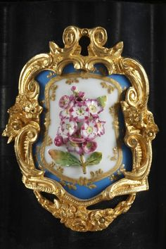 Large Ebony and Porcelain Coffer - Alphonse Giroux