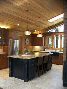 Eclectic Kitchen Photos Lake House Decorating Design Ideas, Pictures, Remodel, and Decor - page 13