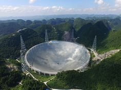 China vollendet weltgrößtes Radioteleskop . . . http://www.grenzwissenschaft-aktuell.de/weltgroesstes-radioteleskop20160706/