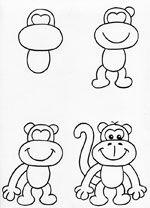 Как нарисовать обезьяну на Новый год, оригинальные и смешные картинки,фото?
