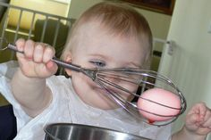 I thoughtcoloring eggs would have to wait another year until I saw a post suggesting that toddlers could dye eggs using a whisk. What a brilliant idea! I could…