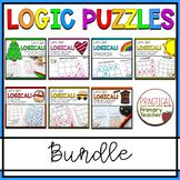 Logic Puzzles Bundle Reading Response Activities, Critical Thinking Activities, Third Grade Science, Physics Classroom, Reading Comprehension Passages, Logic Puzzles, School Grades, Developmental Psychology, Back To School Activities