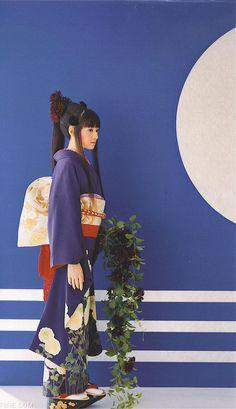 Nipponia nippon — exercicedestyle: Chiaki Kuriyama