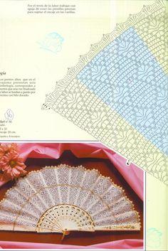 веера — Яндекс.Диск Filet Crochet, Crochet Art, Crochet Diagram, Crochet Home, Thread Crochet, Crochet Motif, Crochet Designs, Crochet Doilies, Crochet Stitches