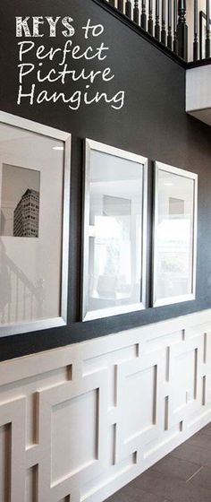 I love this wainscoting!