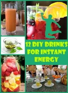 12 Healthy DIY Energy Drinks that Give You an Instant Boost
