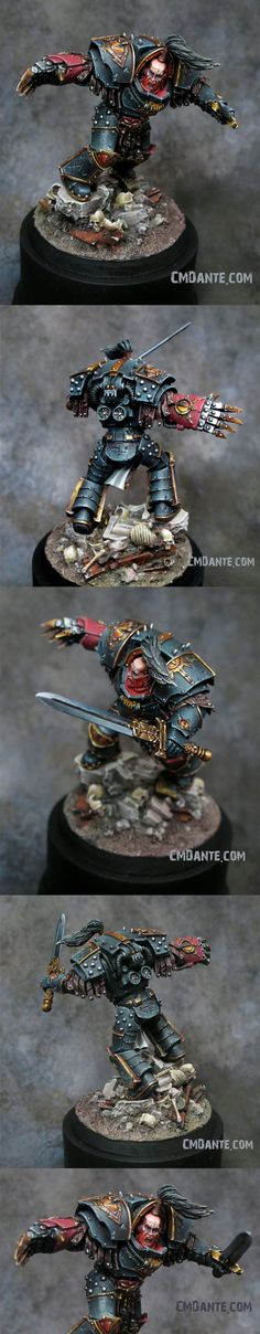 40k - Captain Abaddon of the Sons of Horus by CMDante