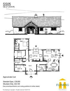 One Storey House, Home Interior Design, Floor Plans, How To Plan, Design Ideas, Google, Home Interiors, House Floor Plans