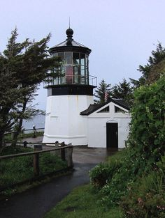 Cape Mears Lighthouse (1890), Oceanside, Oregon Copyright: Lori Cannon
