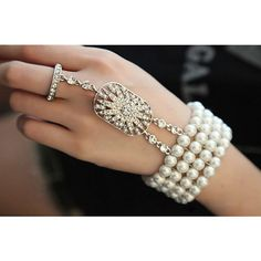Great Gatsby bracelet 1920s flapper wedding bridal by IlovelyCraft