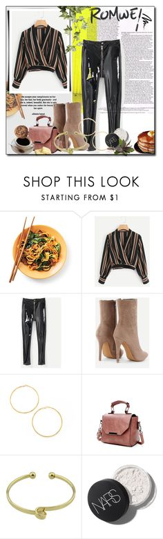 """""""romwe 4/VI"""" by amina-haskic ❤ liked on Polyvore featuring Bobbi Brown Cosmetics"""