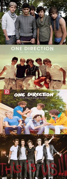 4 YEARS!!! They have came a long way and if u agree repin or like this>>>>but Liam in the first one doe