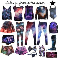Galaxy clothes all of them are mine lol