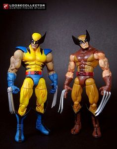 Wolverine : Jim Lee Style (Marvel Legends) Custom Action Figure by loosecollector Base figure: XForce Wolvie with ML3 Wolvie's arms and lower legs