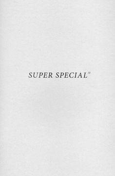 Super special