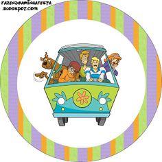 Imprimibles de Scooby Doo 2.