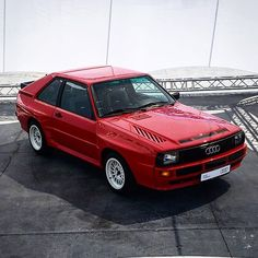In Spain to drive the #Audi #ttrs but massively distracted by this. Oh my. #urquattro #sportquattro #rally #rallycar #car #cars #classiccar #classiccars