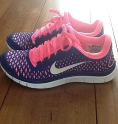 Simple Nike Frees Shoes are a must have for every active girl's wardrobe