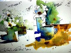 """""""Lost & Found"""" Edges in Watercolor- by Chris Petri ( Part 1 of 2 ) - YouTube"""
